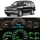 Green Led Dash Cluster Instrument Gauge Replacement Light Kit Fits 00-02 Tahoe