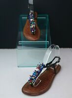 Sam Edelman Gabrielle Beaded Sandals Size 7