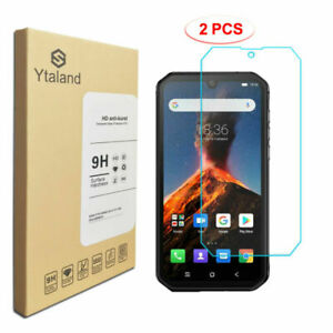 [2 Pack] 9H Tempered Glass Film Guard Screen Protector For Blackview BV9900 Pro