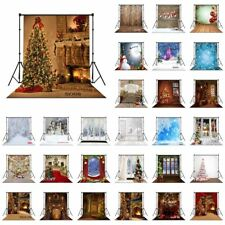 28 Style XMAS Tree Santa Snow 10X10FT CP Vinyl Studio Backdrop Photo Background