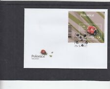 Slovenia 2017 Ladybirds miniature First Day Cover FDC Zivalstvo special pmk