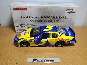 2005 Kyle Busch #5 Kellogg's / California 1st Win / Raced 1:24 NASCAR Action MIB