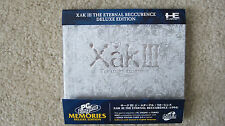 NEW and ENGLISH Xak III: The Eternal Recurrence Deluxe Ed. PC Engine Turbografx