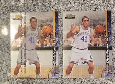 (2) Dirk Nowitzki 1998-99 Finest RC LOT #234 Protector And Non