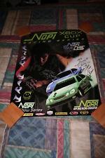 2005 NOPI Chics Drag Racing Grid Girls signed poster
