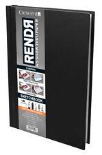 CRESCENT 12-00010 RENDR C ALL MEDIA NO SHOW THRU PAPER HARDBOUND SKETCHBOOK ...