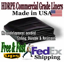15x20 Pond Liner, 30 year HDRPE & FREE SHIPPING, No Undelay req, BEST SELLER!!