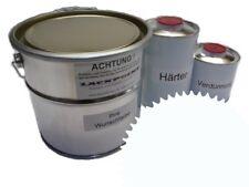 1,75 Liter Set 2K Epoxid Grundierung/Füller RAL 9010 Weiß Autolack EP Lackpoint