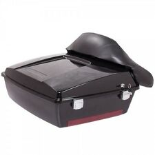 TRM-Motorcycle Trunk Luggage Case Tail Box for 1997-up Harley Davidsion Touring