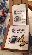 Adobe Photoshop Elements 5.0 PC Software CD + User Guide in Box