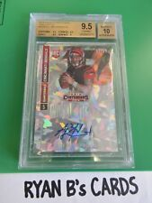 A.J. MCCARRON 2014 PANINI CONTENDERS CRACKED ICE ROOKIE AUTO 14/22 BGS 9.5/10