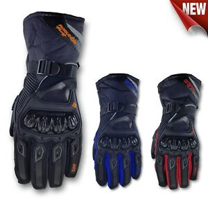 Motorcycle Waterproof Gloves Touch Screen Warm Ski Snow Winter Thermal Motorbike