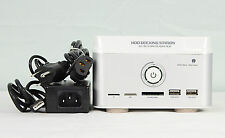 "MASS STORA HDD DOCKING STATION  ALL IN 1  TF/M2/SD/MS/MMC/ 2.5"" OR 3.5"" SATA HDD"