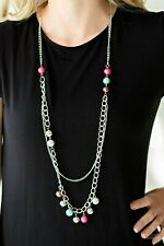 Modern Musical *Multi Color* Paparazzi Necklace