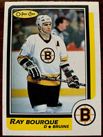 1986-87 O PEE CHEE  OPC RAY BOURQUE NMMT
