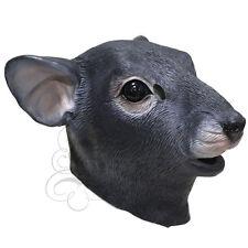 Latex Full Head Animal Rattus Rat Fancy Dress Up Carnival Prop Party Mask