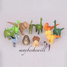 Disney Pixar The Good Dinosaur 12 pcs Diniosaur Arlo Bubbha Doll Set Decor Toy