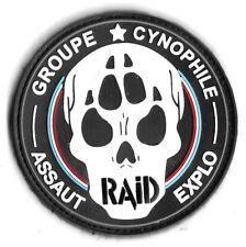 Ecusson PVC 3D R.A.I.D GROUPE CYNOPHILE ASSAUT EXPLO