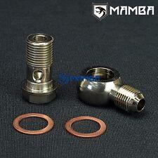 Banjo Bolt Kit 6AN to M16x1.5 Turbo Water coolant Garrett T3 TB03 Hitachi HT18