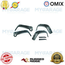 Omix For 97-06 Jeep Wrangler TJ All Terrain Fender Flare Kit, 6 inch, 6 Piece