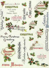 Transfer Paper A/4 Spices Merry Christmas craft