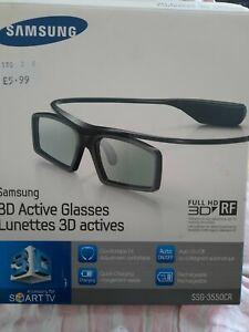 Samsung SSG-3550CR 3D Active TV Glasses x 2 Pairs - unused