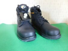 V12 Bison Power Grip Safety Work Boots Black Size 12