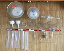 Konvolut Laborglas Kolben Trichter Zylinder