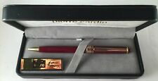 PIERRE CARDIN BURGANDY LAQUERED PEN Manufacturer's Lifetime Warranty NEW IN BOX