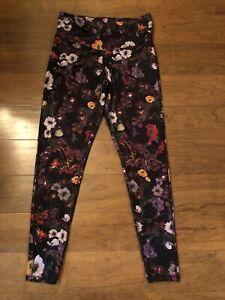 Champion Women's Floral Yoga Pants Legging Size Large
