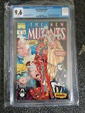 New Mutants #98 - Marvel 1991 CGC 9.6 1st Appearance Deadpool, Gideon & Domino