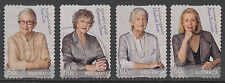 Australia 2011 Aust.Legends Advancing Equality F U set 4 peel & stick stamps.