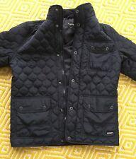 mens Navy firetrap jacket size medium
