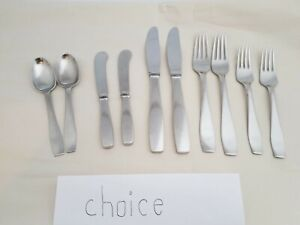 """Georg Jensen Plata Denmark """"choice of 2 pieces"""" used a lot stainless"""