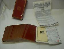 Vintage Jeu de Tarot 78 Cartes Playing Cards Heron France w/Instructions