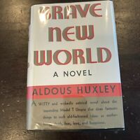 Brave New World by Aldous Huxley 1932 First Edition w/ Dust Jacket