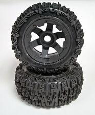 Rovan 5T SC LT Wheel Tyre Set Excavator Trencher 195x80mm (2) fit HPI KM Losi