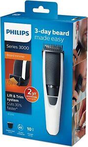 PHILIPS Profi Haarschneidemaschine Haarschneider 3 Tage Bart 10 Längen Lift Trim