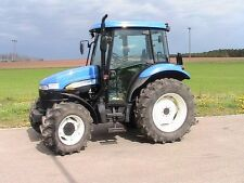 New Holland TD60D TD70D TD80D TD90D TD95D Tractors Workshop Service Manual