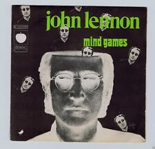 45 RPM SP JOHN LENNON MIND GAMES