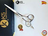 Tijeras de Peluqueria Para Zurdos Corte Cabello Pelo Barberia Lefthand Scissors