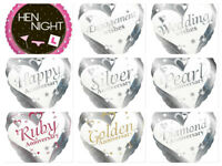 Foil Balloons Silver Pearl Ruby Golden Diamond Wedding Engagement Anniversary