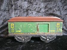 Spur 0 Packwagen von Karl Bub in grün, Klasse, selten