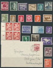 Lot Stamp Germany India WWII Hitler Azad Hind Rockets Olympic Boat Cover Faults