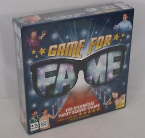Game For Fame Hilarious Party Board Game For Up To 16 Players! Family, Adults