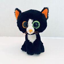 "Frights 6"" Ty Beanie Boo Boos Halloween Kitten Black Cat"