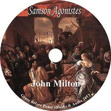 Samson Agonistes, John Milton Classic Tragedy Drama Audiobook on 1 MP3 CD