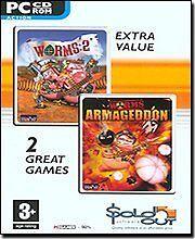 Vermi Doppio Pack-Worms 2 & Armageddon (PC), Windows Me, Windows 98, PC, W