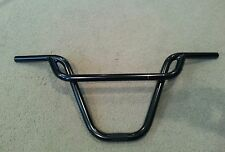 NEW F STYLE HANDLEBARS 22.2 MM BLACK  BMX BICYCLE BARS (ALSO IN CHROME)
