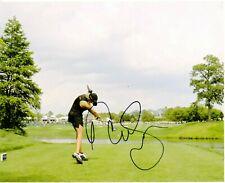 Natalie Gulbis signed LPGA 8x10  photo